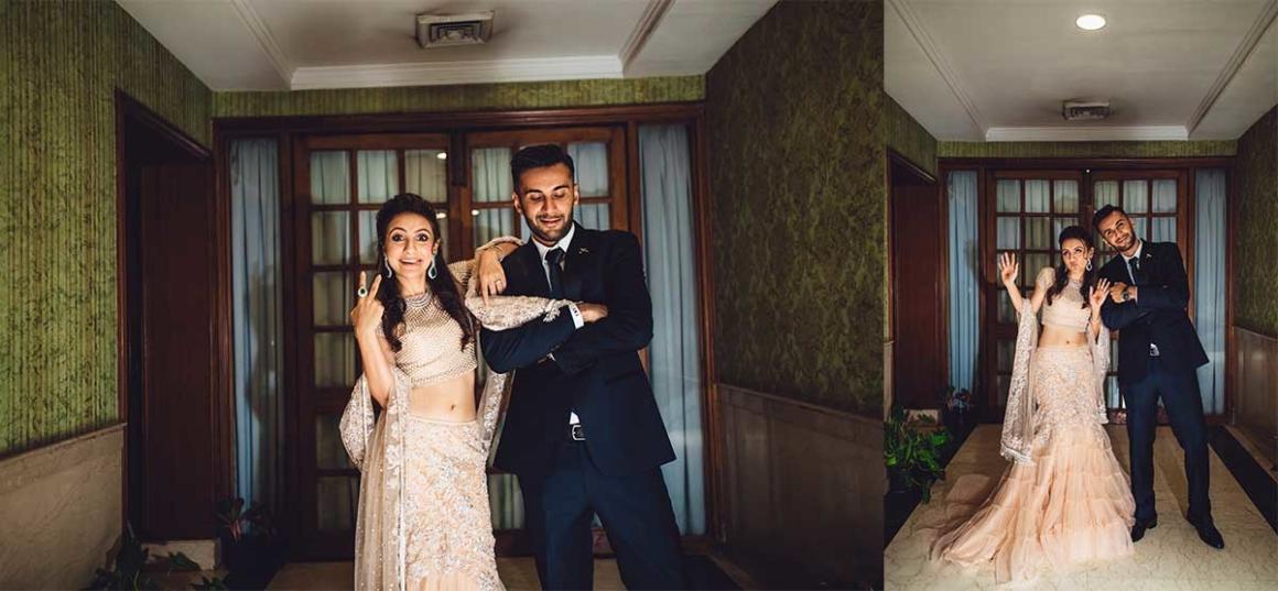 wedding photographer | couple shoot | making portraits | neeta lulla | fun bride | weird groom | retarded faces | candid shot